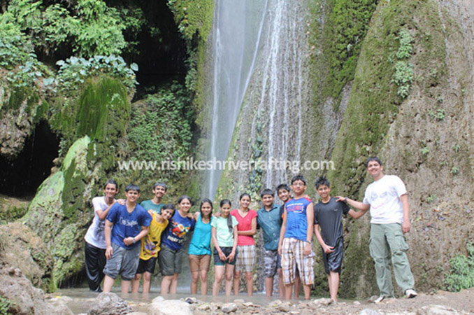 waterfall trek rishikesh, rishikesh travel weekends